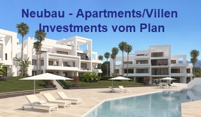 Neubau Investments vom Plan